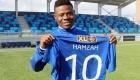 Abdul Nassiru Hamzah. 18 år og fra Ghana.