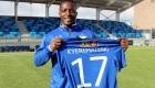 Kwabena Kyeremateng. 20 år og fra Ghana.