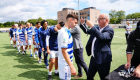 KØGE, DENMARK - AUGUST 01: Photo from the Capelli Sport Cup match 16 U19 FINAL between Capelli Sport USA and  MSV Duisburg at Capelli Sport Stadium on August 1, 2021 in Køge, Denmark. (Photo by Lars Ronbog / FrontZoneSport)