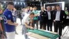 Shuffleballturneringen var igen i år et stort hit.
