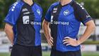 Anføreren og topscoreren fra sidste sæsons mesterskab viser stolt den nye hjemmebanetrøje frem. (Photo by Lars Rønbøg / FrontzoneSport)